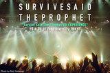 Survive Said The Prophetのライヴ・レポート公開!初のZeppワンマン、VR技術を駆使したインタラクティヴMVのライヴ・シューティングを兼ねた一夜限りのフリー・ライヴをレポート!