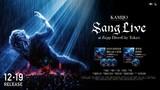 KAMIJO、12/19リリースのライヴBlu-ray&DVD『Sang Live at Zepp DiverCity Tokyo』ジャケット&トレーラー公開!