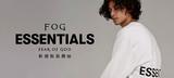 FOG ESSENTIALS、新規取扱開始!ブランド・ロゴを大胆に配した裏起毛パーカー&ロンTがラインナップ!