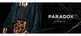PARADOXから大胆な切り替えとブランド・ロゴが注目のパーカーやZIPポケットを装備したワイド・シルエットのスウェットが新入荷!
