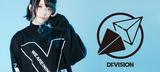 """DI:VISIONからアウト・ラインの""""X""""をビッグ・プリントしたコーチJKT&ブランドらしいデザインを採用したロンTが新入荷!"""
