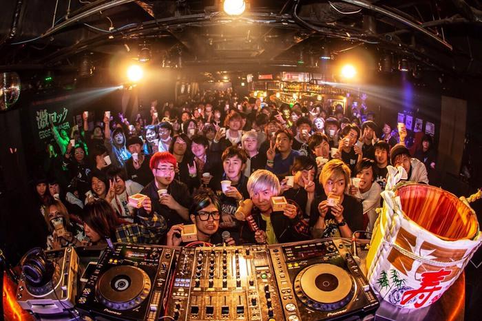 昨日1/12開催の東京激ロックDJパーティー~日本一ロックな新年会スペシャル~@渋谷THE GAME、大盛況にて終了!次回は2/9開催!