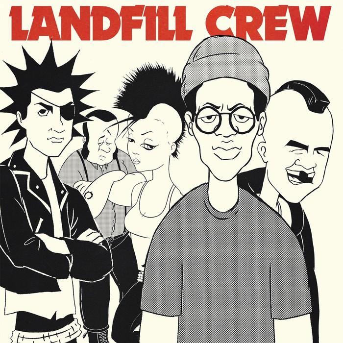 """RANCIDのフロントマン Tim Armstrong、架空のアニメ・パンク・バンド""""LANDFILL CREW""""結成!4曲入りセルフ・タイトルEPリリース&全曲音源公開!"""