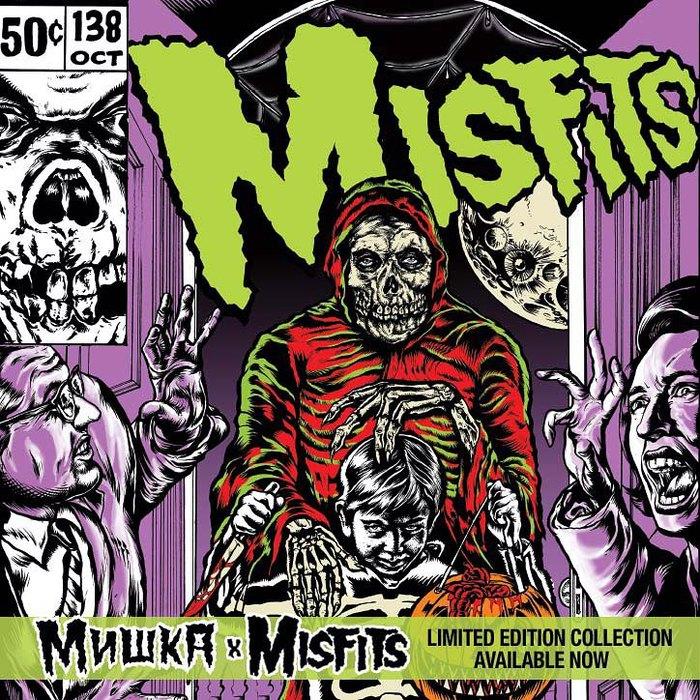 MISHKA(ミシカ)からMISFITSとのコラボ・アイテム、Subciety (サブサエティ)からはシンプルなボックス・ロゴを配したTシャツなどが登場!