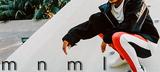mnml (ミニマル)からストレッチ素材の生地にダメージ加工を施したデニムやベルト、FILA(フィラ)からはサイド・ラインが注目のボトムスなどが登場!
