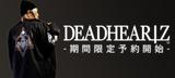 DEADHEARTZ&deathsight最新作、期間限定予約開始!ブランドらしいダークなモチーフをあしらったコーチJKTやロンTがラインナップ!