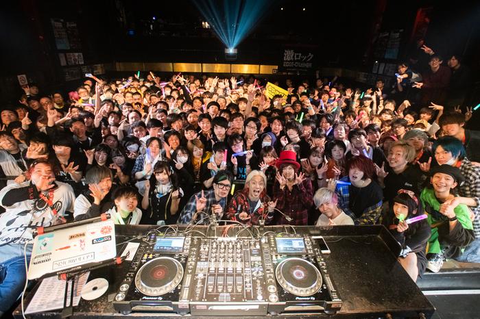 750名を動員!本日3/17開催の東京激ロックDJパーティー・スペシャル@渋谷clubasia、大盛況にて終了!次回は4/13渋谷THE GAMEにて原点回帰のナイトタイム開催!