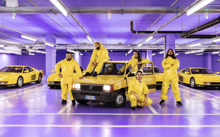 イタリアの変態テクニカル・メタル・バンド DESTRAGE、ニュー・アルバム『The Chosen One』5/24海外リリース決定!表題曲MV公開!