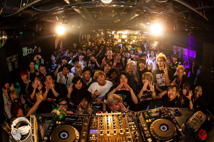6/8開催の東京激ロックDJパーティー@渋谷THE GAMEのレポート公開!次回は7/13下北沢LIVEHOLIC&ROCKAHOLICの上下階ブチ抜き2会場同時開催!