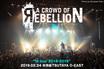 """a crowd of rebellionのライヴ・レポート公開!満員のツアー最終日、可聴音域をいっぱいに使い""""本物""""のバンド・サウンドを圧倒的レベルで成立させたO-EAST公演をレポート!"""