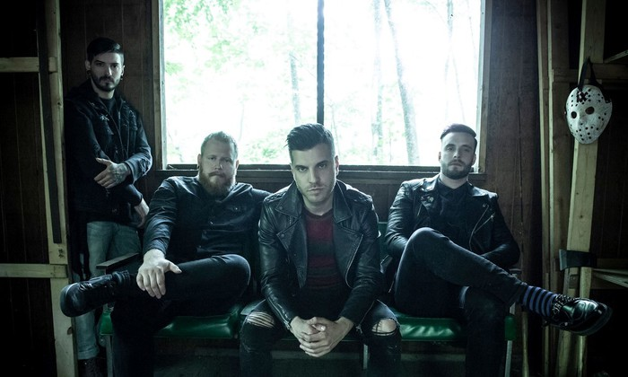 ICE NINE KILLS、Justin Morrow(Ba)の脱退を発表。JustinはMOTIONLESS IN WHITEに正式加入へ