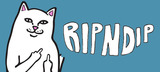RIPNDIP(リップンディップ)からカラーの切り替えが特徴的な総柄Tシャツ&ショーツやラフなデザインが注目のロンTなどが新入荷!
