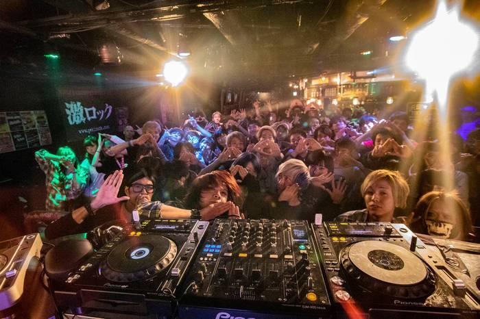 昨日4/13開催の東京激ロックDJパーティー@渋谷THE GAME、大盛況にて終了!次回は5/11ナイトタイム、6/8デイタイムにて開催!
