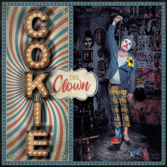 NOFXのFat Mike(Vo/Ba)によるソロ・プロジェクト COKIE THE CLOWN、4/26リリースのデビュー・アルバム『You're Welcome』より「Negative Reel」MV公開!