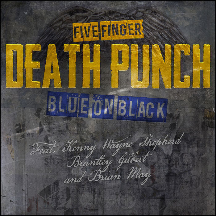 FIVE FINGER DEATH PUNCH、Brian May(QUEEN)らをフィーチャーした「Blue On Black」新バージョンMV公開!