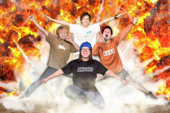 北九州発4ピース SHIMA、福岡のタワレコ3店舗とコラボしたポスター公開!2ndフル・アルバム『BLAST』発売記念イベントも開催決定!