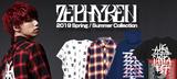 """Zephyren(ゼファレン)から人気グラフィック""""如意宝珠""""を全面に配したL/Sシャツをはじめダメージを施したボトムスやシューズなどが再入荷!"""