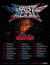 BABYMETAL、9月よりUSツアー開催決定!