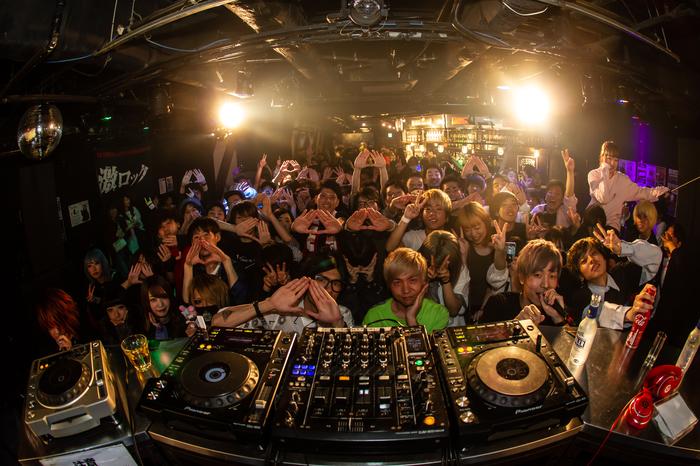 昨日5/11開催の東京激ロックDJパーティー@渋谷THE GAME、大盛況にて終了!次回は6/8デイタイムにて開催!