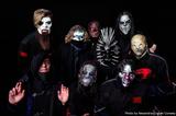 SLIPKNOT、メンバー9人の新マスクをInstagramにて公開!