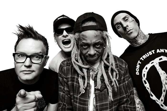 BLINK-182 × LIL WAYNE、北米ツアーの開催記念し互いの代表曲「What's My Age Again?」、「A Milli」をマッシュアップ!パフォーマンス映像公開!
