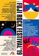 """FUJI ROCK FESTIVAL'19""、第4弾アーティストに5組決定!"