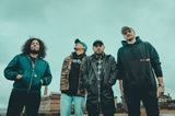 ISSUES、新曲「Tapping Out」音源公開&配信リリース!