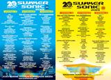 """8/16-18開催""""SUMMER SONIC 2019""""、ステージ別ラインナップ発表!追加ラインナップにLOUDNESS、ALLISTERら決定!"""