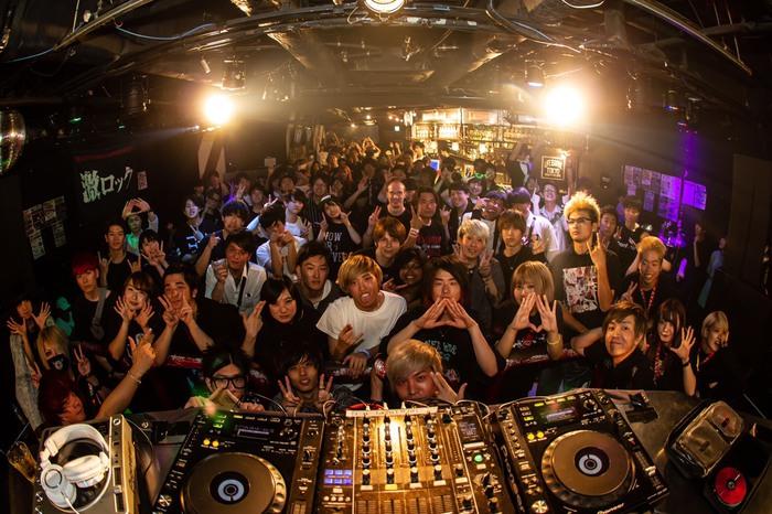 昨日6/8開催の東京激ロックDJパーティー@渋谷THE GAME、大盛況にて終了!次回は7/13下北沢LIVEHOLIC&ROCKAHOLICの上下階ブチ抜き2会場同時開催!
