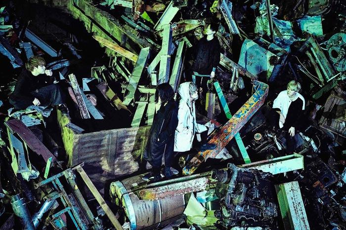 a crowd of rebellion、6/19にニュー・ミニ・アルバム『Black_24:』リリース決定!収録曲「Dystopia」MV公開&3部構成の全国対バン・ツアー第2弾開催も!