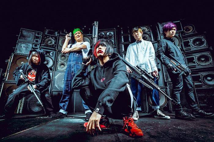 """ヒステリックパニック、新曲「弱虫ライオット」初披露時のライヴ映像公開!6/19にLINE LIVEにてリリース記念""""たこパ""""も決定!"""