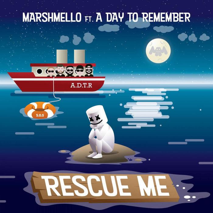 A DAY TO REMEMBERがフィーチャリング参加!覆面DJ/プロデューサー MARSHMELLO、新曲「Rescue Me」MV公開!