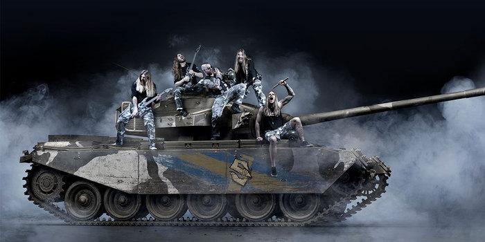 """スウェーデン発""""ウォー・メタル・バンド""""SABATON、7/19リリースのニュー・アルバム『The Great War』より「The Red Baron」リリック・ビデオ公開!"""