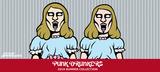 """PUNK DRUNKERS(パンクドランカーズ)から""""双子のあいつ""""を総柄で落とし込んだS/Sシャツ&ショーツやワン・ポイント刺繍が注目のTシャツなどが新入荷!"""