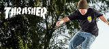 THRASHER(スラッシャー)から人気のMAG LOGOをドット調で落とし込んだネオン・カラーTシャツ、ALIVE (アライブ)からは自動巻きウォッチが新入荷!