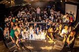 ゆくえしれずつれづれ、Yojiro(A Ghost of Flare)ゲスト出演した7/21名古屋激ロック、大盛況で終了!次回10/14(月・祝)、前人未到の100回目&18周年記念パーティーとして開催決定!