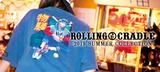 """ROLLING CRADLEからマキシマム ザ ホルモンの""""ダイスケはん&ナヲ""""がMCを務める""""モンスターロック""""とのコラボTシャツ、LILWHITE(dot)からはデザイン豊富なTシャツが新入荷!"""