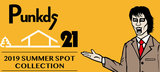 "PUNK DRUNKERS(パンクドランカーズ)を大特集!21周年を記念し作られたTシャツや、""野性爆弾くっきー""とのコラボ・グッズなど新作続々入荷中!"