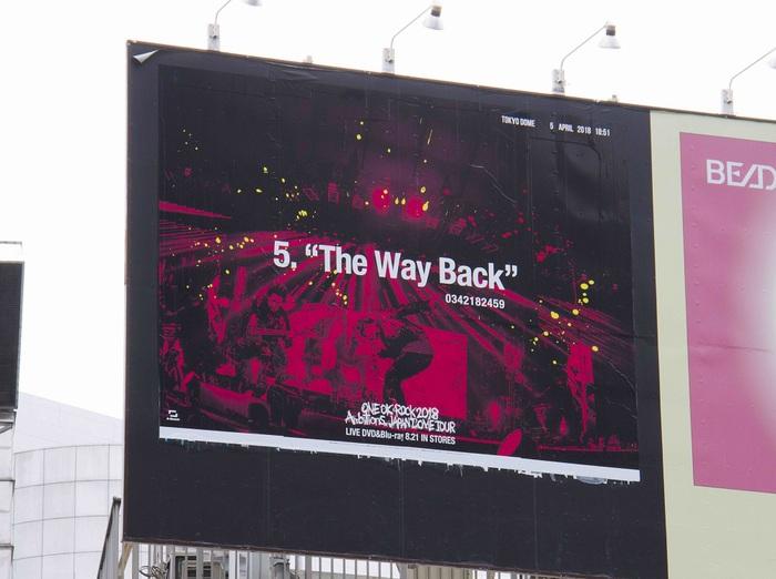 """ONE OK ROCK、ライヴ写真を使用した全41曲分のポスター""""ONE OK ROCK Calling""""が出現!そこに書かれた番号に電話すると!?"""