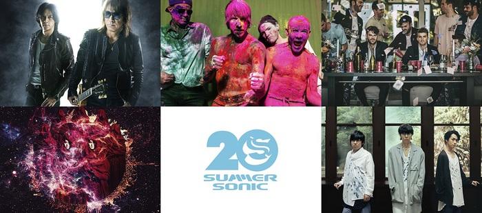 """SUMMER SONIC 2019""、東京公演の模様が10月WOWOWにて合計12時間のボリュームで放送決定!"