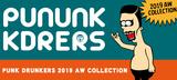 PUNK DRUNKERSからフード部分にトゲトゲを装備したプルオーバーやTOY MACHINEとのコラボ・キャップ、MODERN DAY BABYLONからはCDが新入荷!