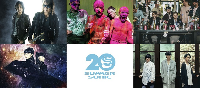 """SUMMER SONIC 2019""、WOWOWでの放送アーティストにレッチリ、BABYMETAL、BMTH、FALL OUT BOY、LOUDNESS、WANIMA、マンウィズら決定!"