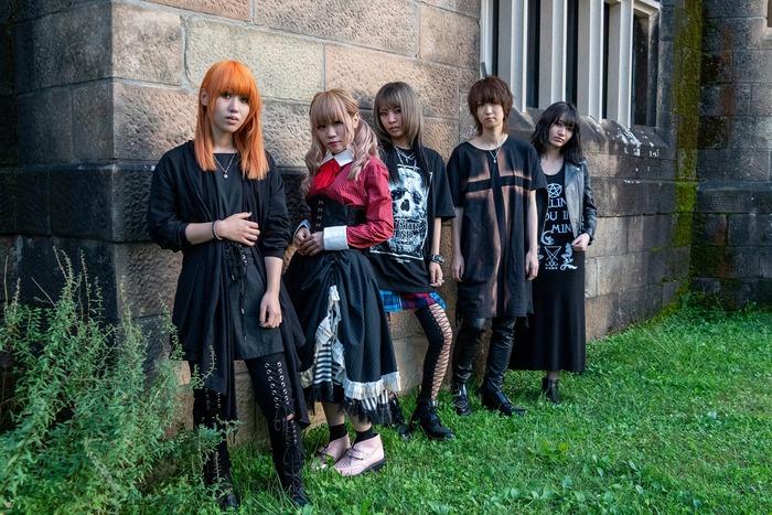 ガールズ・ロック・バンド BRIDEAR、12/4リリースのニュー・アルバム『Expose Your Emotions』より「Ghoul」MVスポット公開!