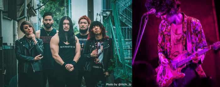 """HER NAME IN BLOOD × DURAN、12/2に渋谷eggmanにてツーマン・ライヴ""""FACE TO FACE vol.05""""出演決定!"""
