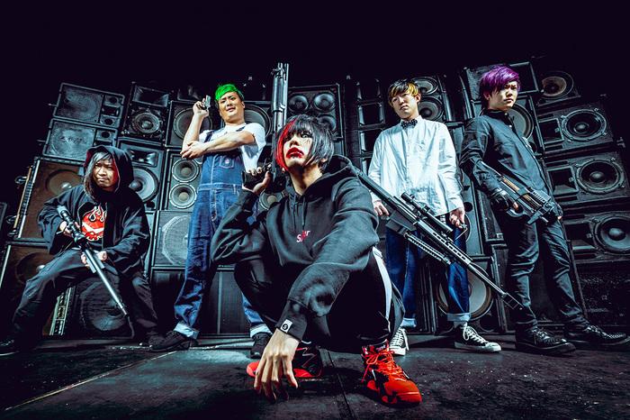 ヒステリックパニック、本日10/9リリースのニュー・アルバム『サバイバル・ゲーム』より「Painkiller」MV公開!