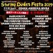 "RAZORS EDGE主催サーキット・フェス""STORMY DUDES FESTA 2019""、最終アーティストにG4N、SHADOWS、STOMPIN' BIRD、スサシ、エバヤン、Paleduskら11組決定!"