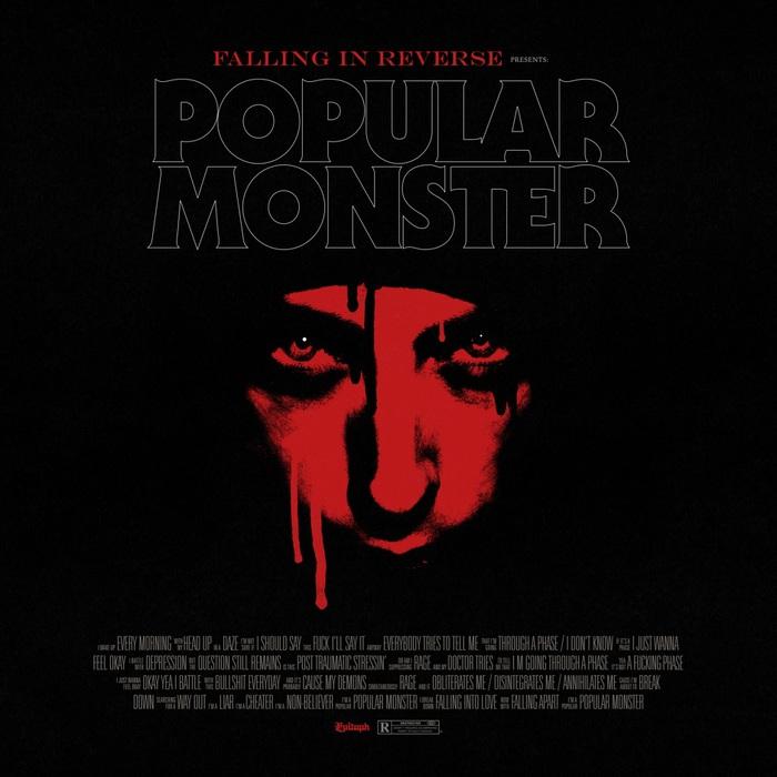 FALLING IN REVERSE、新曲「Popular Monster」配信リリース&MV公開!