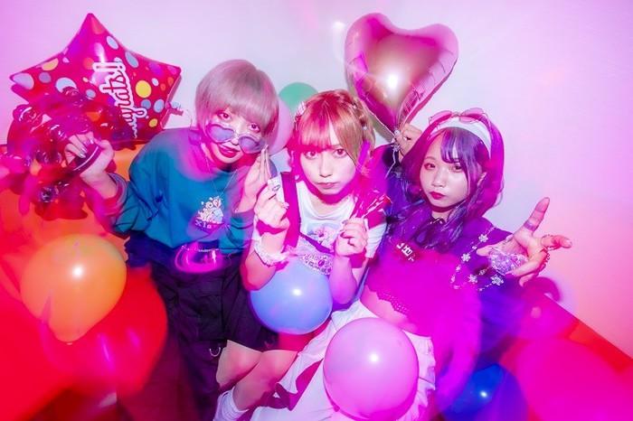 花冷え。、プロデューサーに田浦 楽(Crystal Lake/AGOF/SOUL JAPAN)迎えたニュー・シングル「L.C.G」本日11/30配信リリース&MV公開!