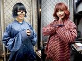 """実久里ことの&二日よいこ(神使轟く、激情の如く。)、激ロック・プロデュースによる美容室""""ROCK HAiR FACTORY""""のヘアモデルに登場!スタイルを公開!"""