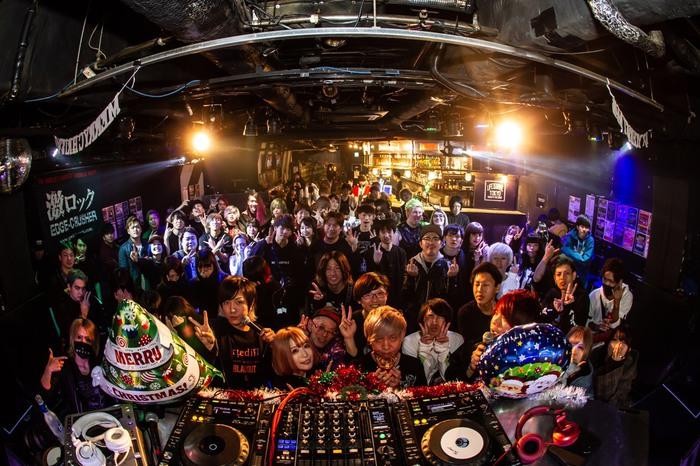 12/14開催の東京激ロックDJパーティー@渋谷THE GAME、大盛況にて終了!次回は2020年1月11日(土)新年1発目、ナイトタイムにて開催!